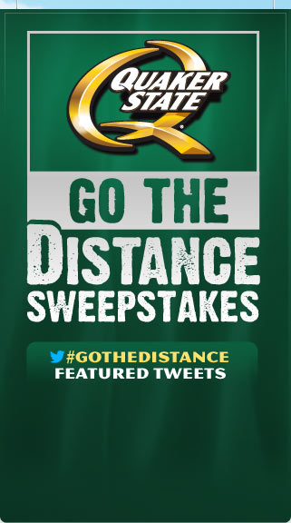 Quaker State Sweepstakes