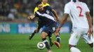 Clint Dempsey scores USA's equaliser against England in Rustenburg.