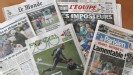French newspapers were quick to attack Raymond Domenech on Friday morning