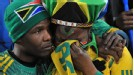 South African fans fail to hide their disappointment