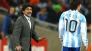 Diego Maradona has cruised into the quarters