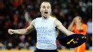 Andres Iniesta celebrates