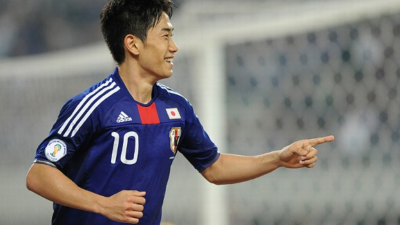 Shinji Kagawa: The face of Japanese football