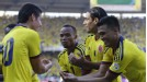 Colombia cruised to a victory that ended Uruguay's 19-game unbeaten record