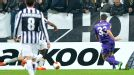 Mario Gomez slots home the equaliser.