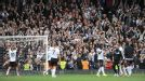 Fulham celebrate a victory over Norwich that gives them real hope of avoiding the drop.