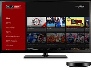 watch espn on smart tv