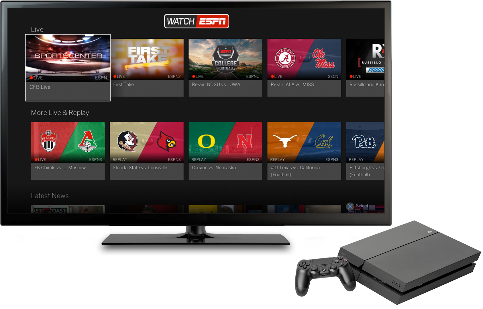 watch espn samsung smart tv