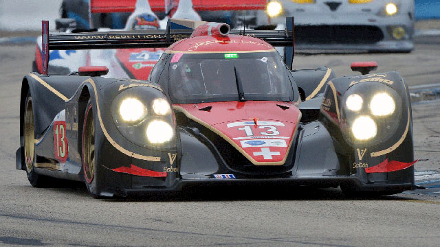 American Le Mans Series at Long Beach Qualifying