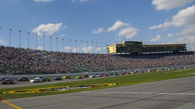 NASCAR Nationwide Series at Kansas