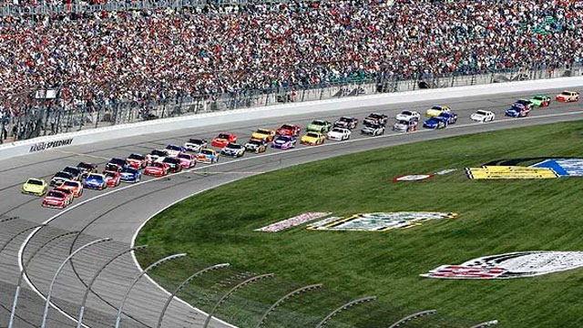 NASCAR Sprint Cup Series at Kansas presented by Ram