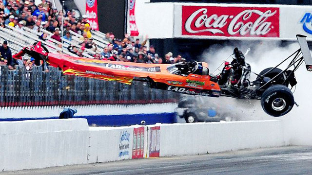 2012 NHRA Thrills & Spills