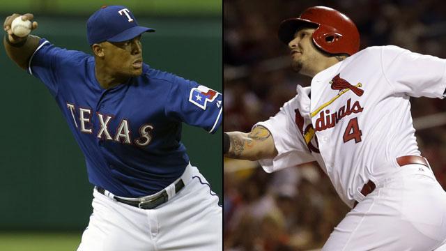 Texas Rangers vs. St. Louis Cardinals