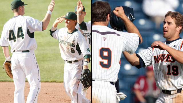 #3 Michigan State vs. #2 Pepperdine (Site 6 / Game 1): NCAA Baseball Regionals