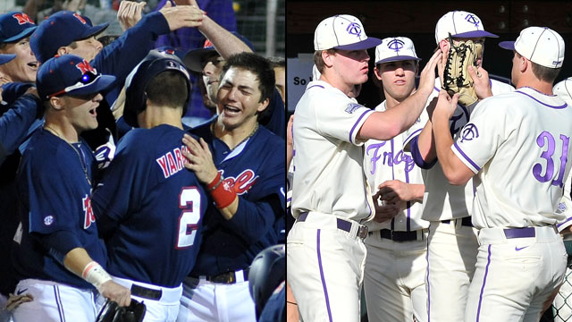 #3 Mississippi vs. #2 TCU (Site 5 / Game 1): NCAA Baseball Regionals