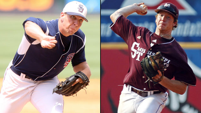 #3 Samford vs. #2 Mississippi State (Site 4 / Game 1): NCAA Baseball Regionals