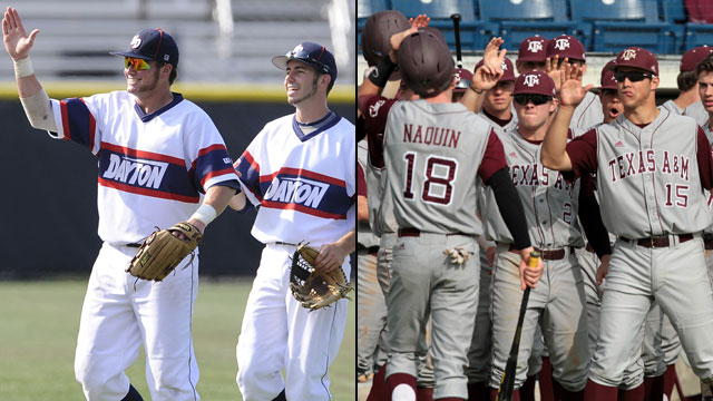 #4 Dayton vs. #1 Texas A&M (Site 5 / Game 2): NCAA Baseball Regionals