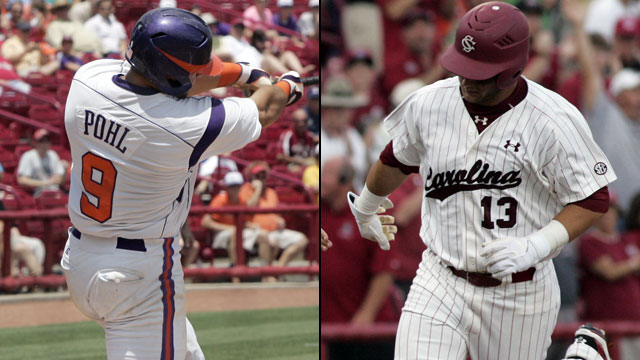 #2 Clemson vs. #1 South Carolina (Site 1/ Game 4): NCAA Baseball Regionals