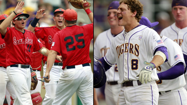 #7 LSU vs. Stony Brook (Site 1 / Game 2): NCAA Baseball Super Regionals