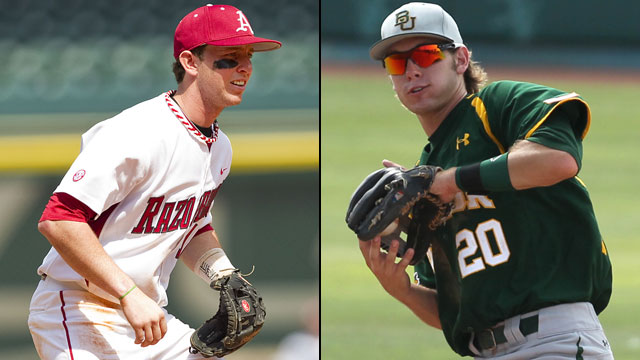Arkansas vs. #4 Baylor (Site 6 / Game 1): NCAA Baseball Super Regionals