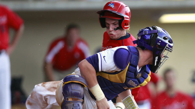 Stony Brook vs. #7 LSU (Site 1 / Game 1): NCAA Baseball Super Regionals