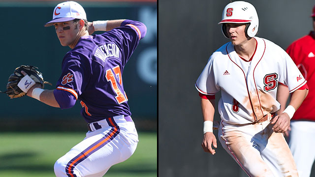#18 Clemson vs. #9 North Carolina State (Game #3): 2013 ACC Baseball Championship