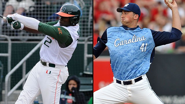 Miami (FL) vs. #5 North Carolina: 2013 ACC Baseball Championship