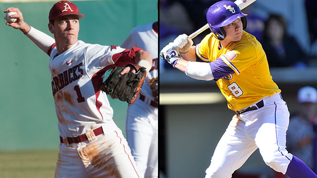 #15 Arkansas vs. #2 LSU (Game #11): 2013 SEC Baseball Tournament