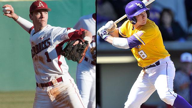 #15 Arkansas vs. #2 LSU (Game #11): 2013 SEC Baseball Tournament