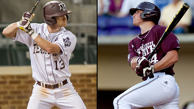 Texas A&M vs. #13 Mississippi State (Game #12): 2013 SEC Baseball Tournament
