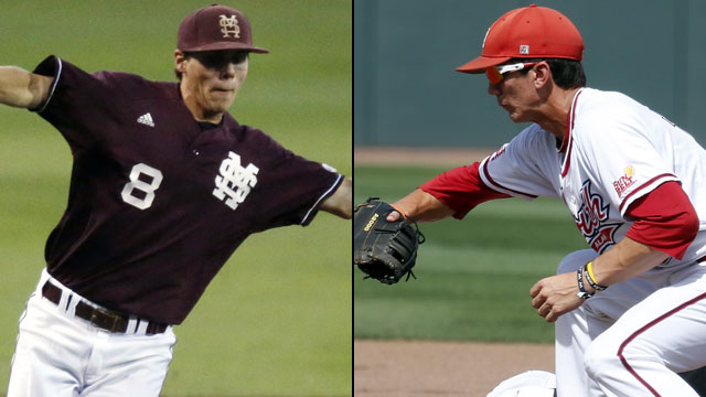 #1 Mississippi State vs. #2 South Alabama (Site 14 / Game 4): 2013 NCAA Baseball Regionals