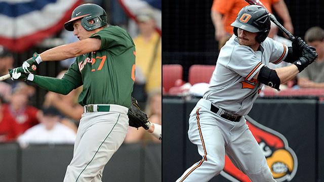 #2 Miami vs. #3 Oklahoma State (Site 10 / Game 5): 2013 NCAA Baseball Regionals