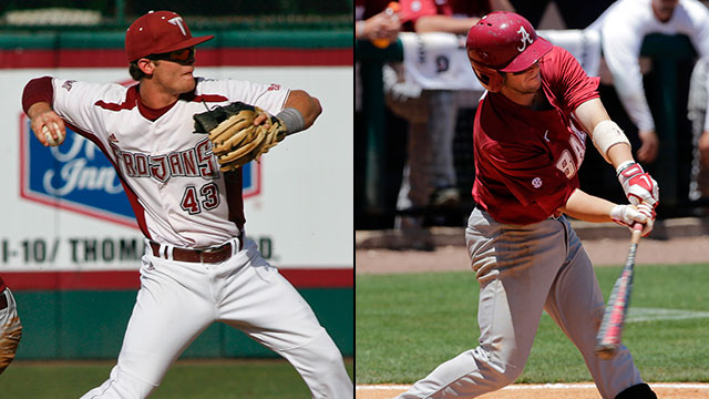 #2 Alabama vs. #3 Troy (Site 12 / Game 5): 2013 NCAA Baseball Regionals