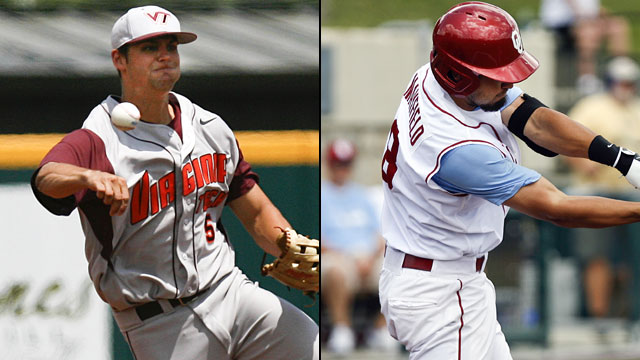 #2 Oklahoma vs. #1 Virginia Tech (Site 7 / Game 6): 2013 NCAA Baseball Regionals