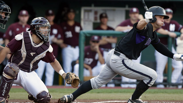 #4 Central Arkansas vs. #1 Mississippi State (Site 14 / Game 7 ): 2013 NCAA Baseball Regionals