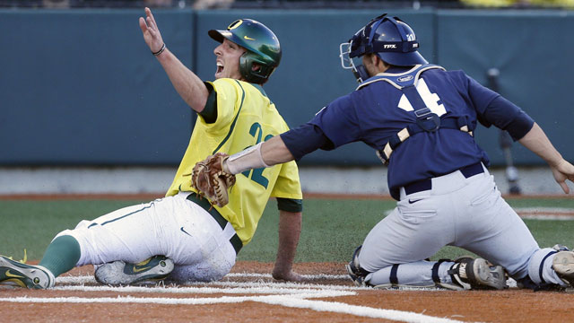 #2 Rice vs. #1 Oregon (Site 4 / Game 7): 2013 NCAA Baseball Regionals