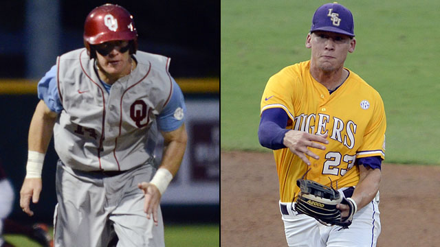 Oklahoma vs. #4 LSU (Site 4 / Game 1): 2013 NCAA Baseball Super Regionals