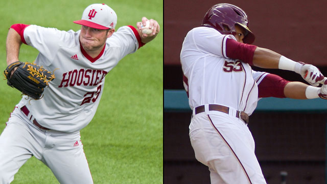 Indiana vs. #7 Florida State (Site 6 / Game 1): 2013 NCAA Baseball Super Regionals