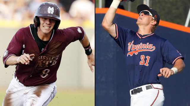 Mississippi State vs. #6 Virginia (Site 7 / Game 1): 2013 NCAA Baseball Super Regionals
