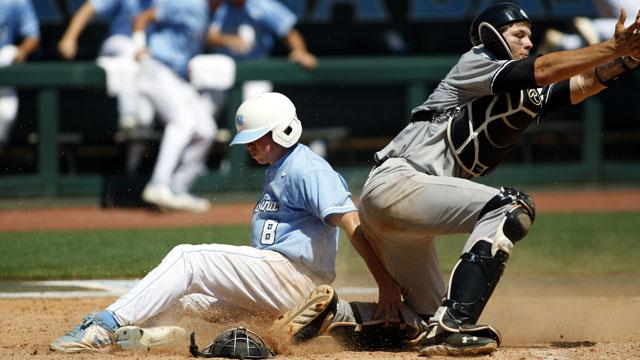 #1 North Carolina vs. South Carolina (Site 1 / Game 2): 2013 NCAA Baseball Super Regionals