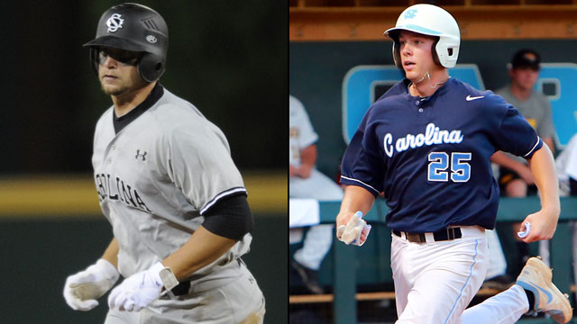 South Carolina vs. #1 North Carolina (Site 1 / Game 1): 2013 NCAA Baseball Super Regionals