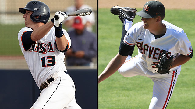 #4 Texas-San Antonio vs. #1 Oregon State (Site 16 / Game 2): 2013 NCAA Baseball Regionals