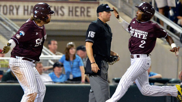Mississippi State vs. Indiana (Game #6): 2013 NCAA College World Series