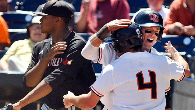 Louisville vs. #3 Oregon State (Game #5): 2013 NCAA College World Series