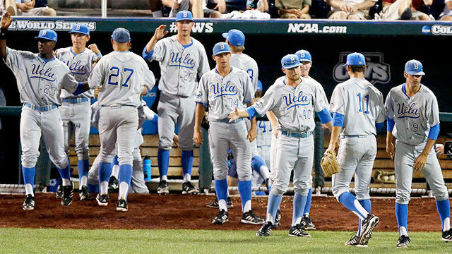 UCLA vs. Mississippi State (CWS Finals Game 1): 2013 NCAA Baseball College World Series