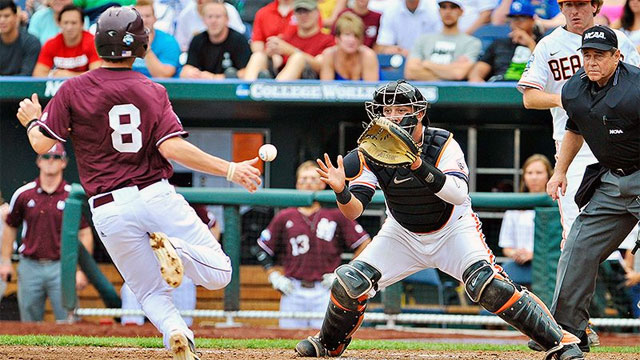 Mississippi State vs. #3 Oregon State (Game #1): 2013 NCAA College World Series