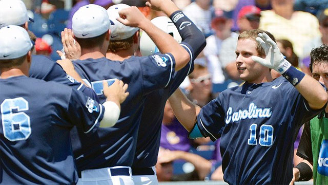 #1 North Carolina vs. #4 LSU (Game #7): 2013 NCAA College World Series