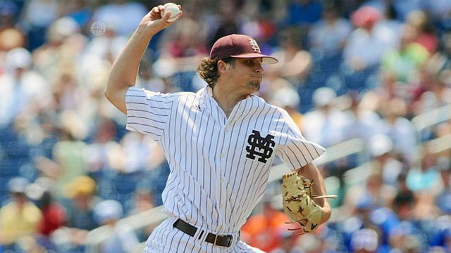 Oregon State vs. Mississippi State (Game #11): 2013 NCAA College World Series