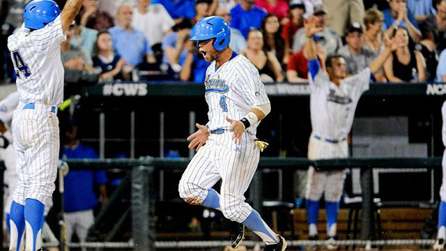 North Carolina vs. UCLA (Game #12): 2013 NCAA College World Series