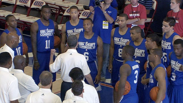 2012 NBA Draft Combine